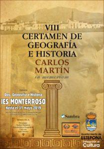 Imagen de la noticia: VIII Certamen de Geografía e Historia