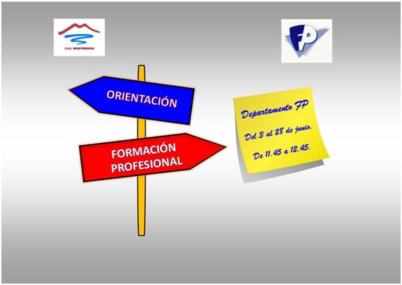 Imagen de la noticia: Servicio de orientación sobre el proceso de admisión de FP Inicial de Grado Medio y Superior (curso 2019/2020