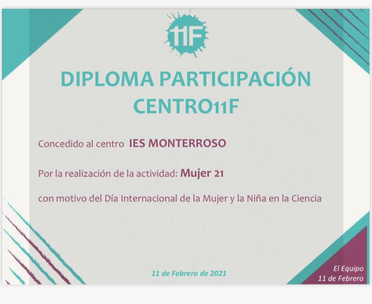 Imagen de la noticia: La iniciativa 11 de Febrero agradece la participación del IES Monterroso [Actualizado]