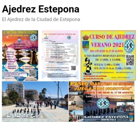Imagen de la noticia: Verano 2021: Ajedrez en Estepona. [Actualizado]