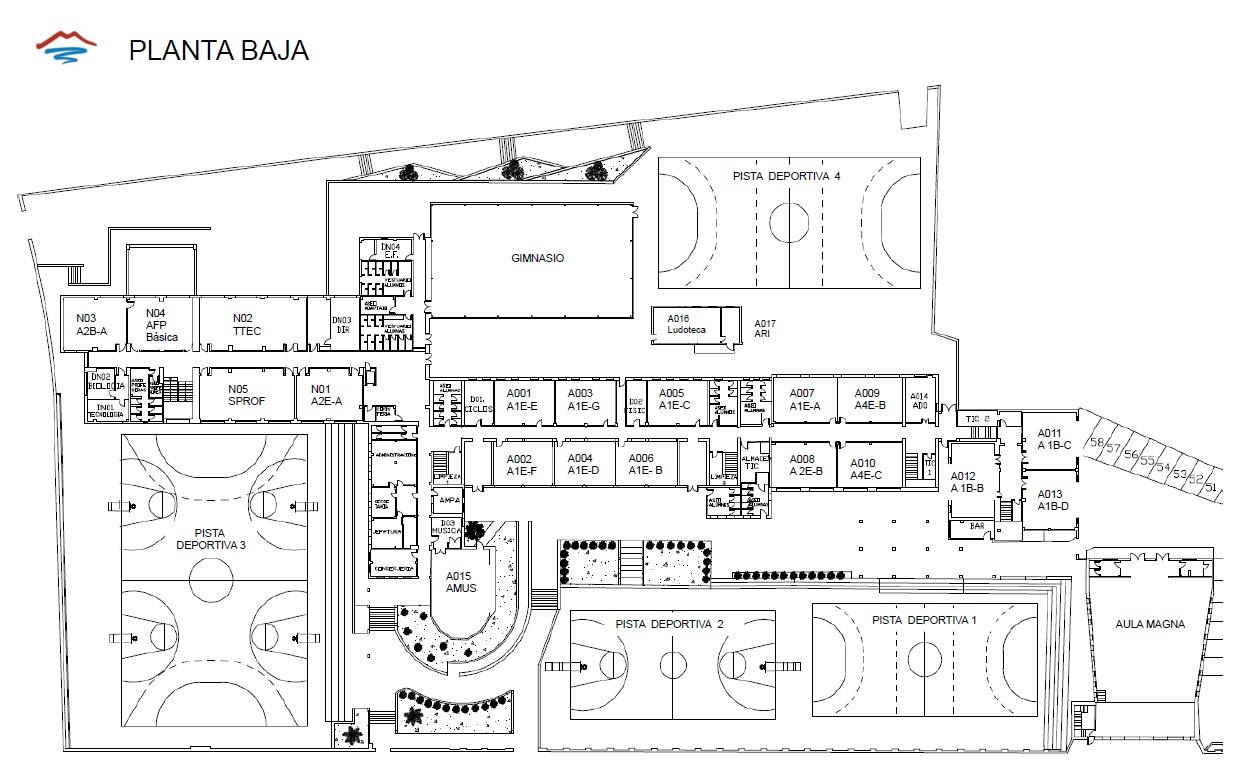 Imagen de la noticia: Planos y distribución de aulas del Centro [Actualizado]